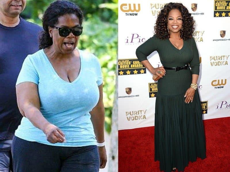Oprah Winfrey weight loss