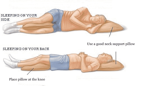 how to sleep with a stiff neck