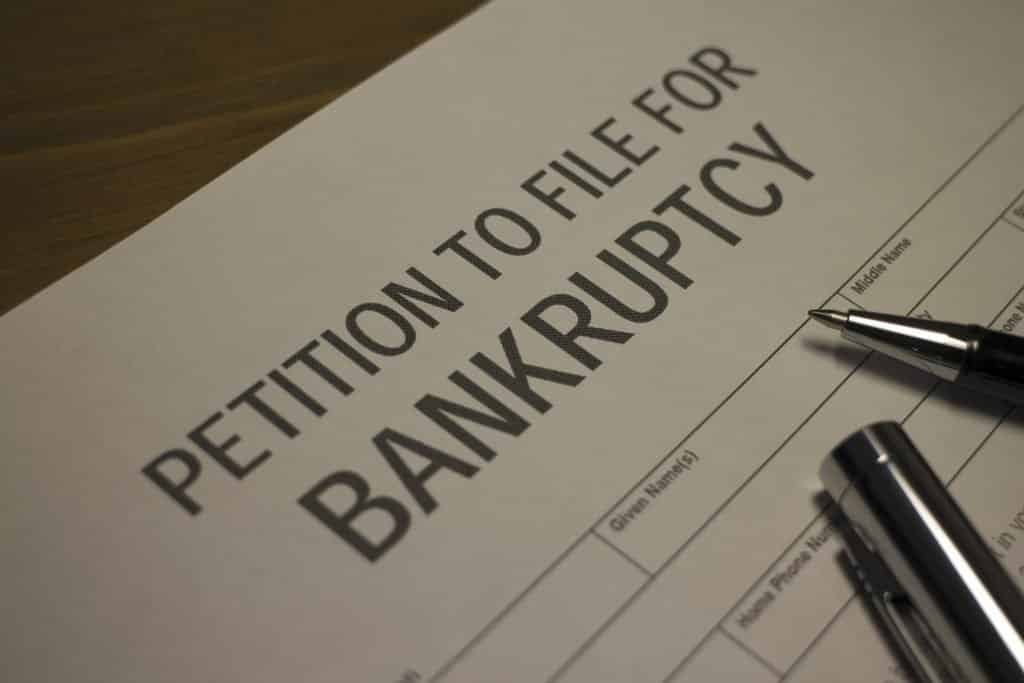 types of bankruptcies