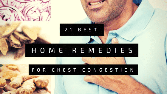 home remedies for congestion in chest