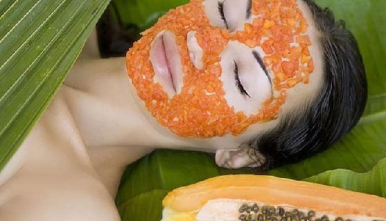 papaya for face whitening